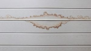 Water Ceiling Stain