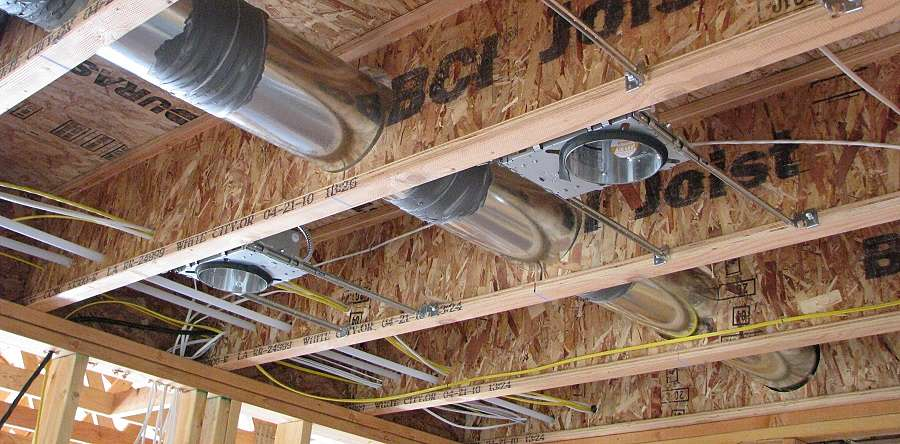 Drill Holes In Ceiling Joists