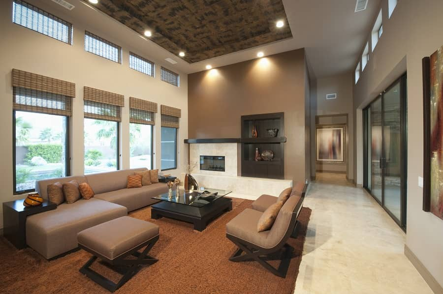 Are high ceilings good for acoustics