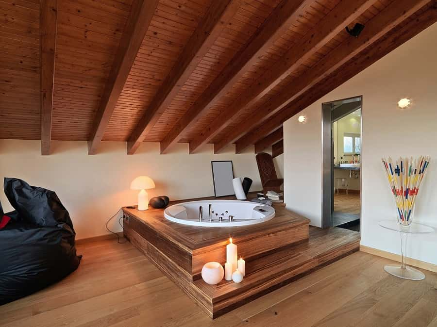 Can You Put a Wood Ceiling in a Bathroom