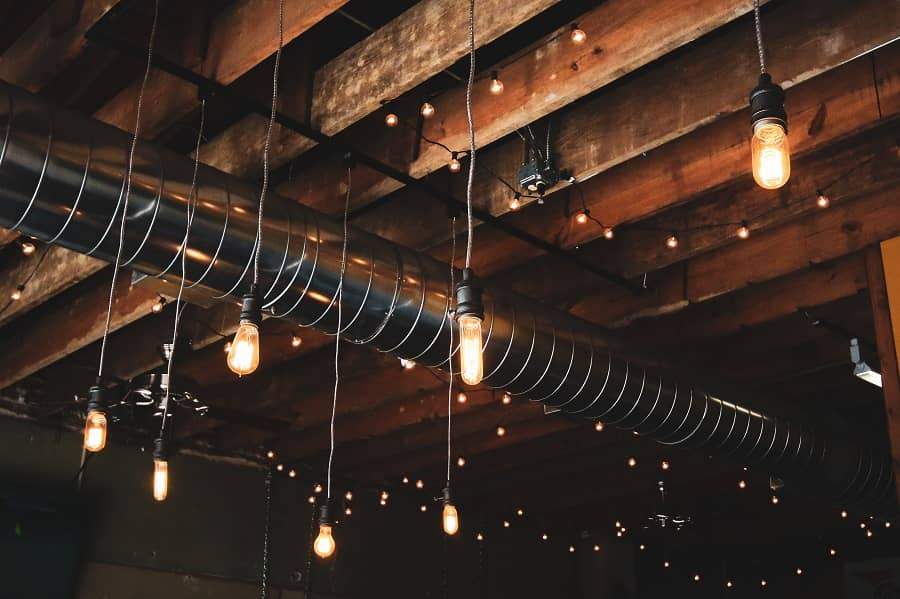 how to hide electrical wires on ceiling